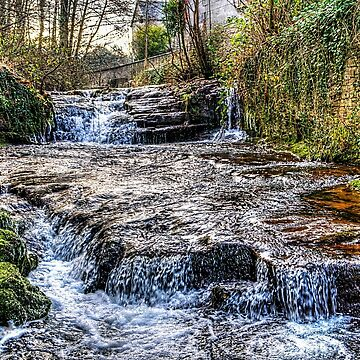 River Ennig Waterfalls 1 by silversnapper1