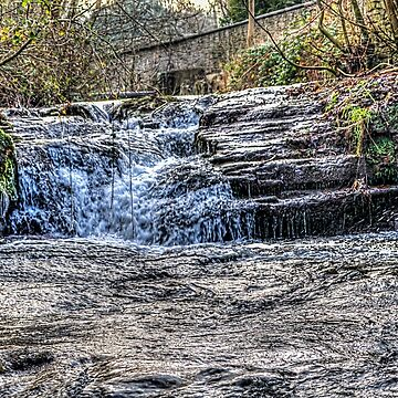 River Ennig Waterfalls 2 by silversnapper1