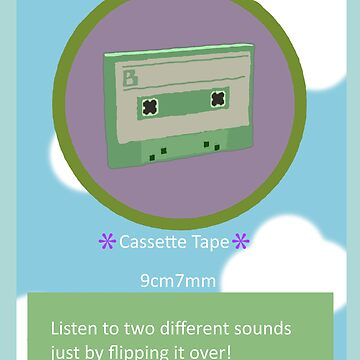 Katamari - Cassette tape from Beautiful Katamari by dubukat