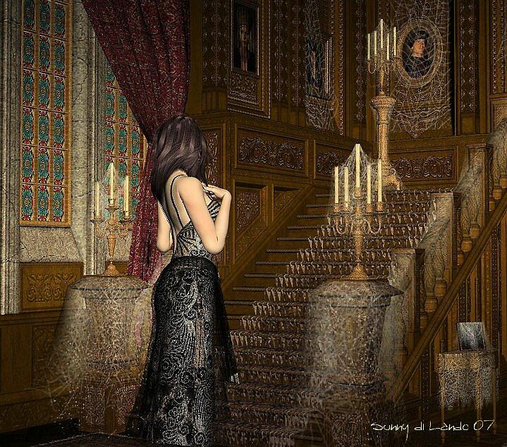 The Haunted Mansion by sdilando