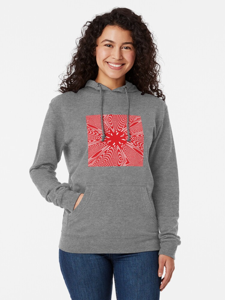 Alternate view of Art #Art #abstract #pattern #design #blue #fractal #wallpaper #digital #graphic #texture #green #art #backdrop #pink #light #red #flower #decorative #star #purple #white #color #psychedelic #geom Lightweight Hoodie