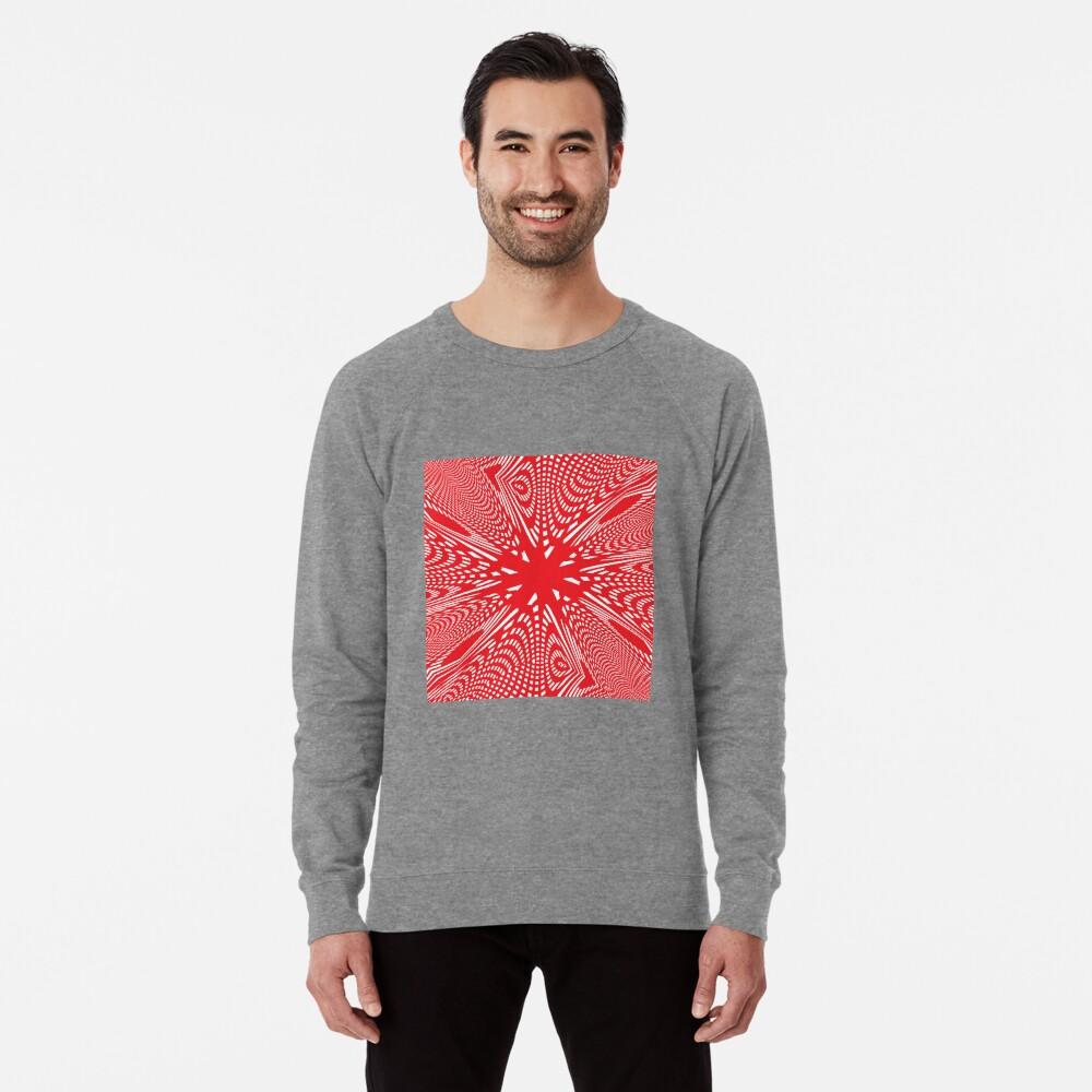 Art #Art #abstract #pattern #design #blue #fractal #wallpaper #digital #graphic #texture #green #art #backdrop #pink #light #red #flower #decorative #star #purple #white #color #psychedelic #geom Lightweight Sweatshirt