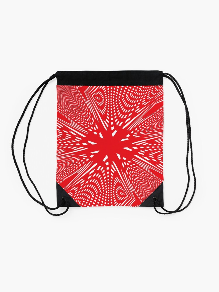 Alternate view of Art #Art #abstract #pattern #design #blue #fractal #wallpaper #digital #graphic #texture #green #art #backdrop #pink #light #red #flower #decorative #star #purple #white #color #psychedelic #geom Drawstring Bag