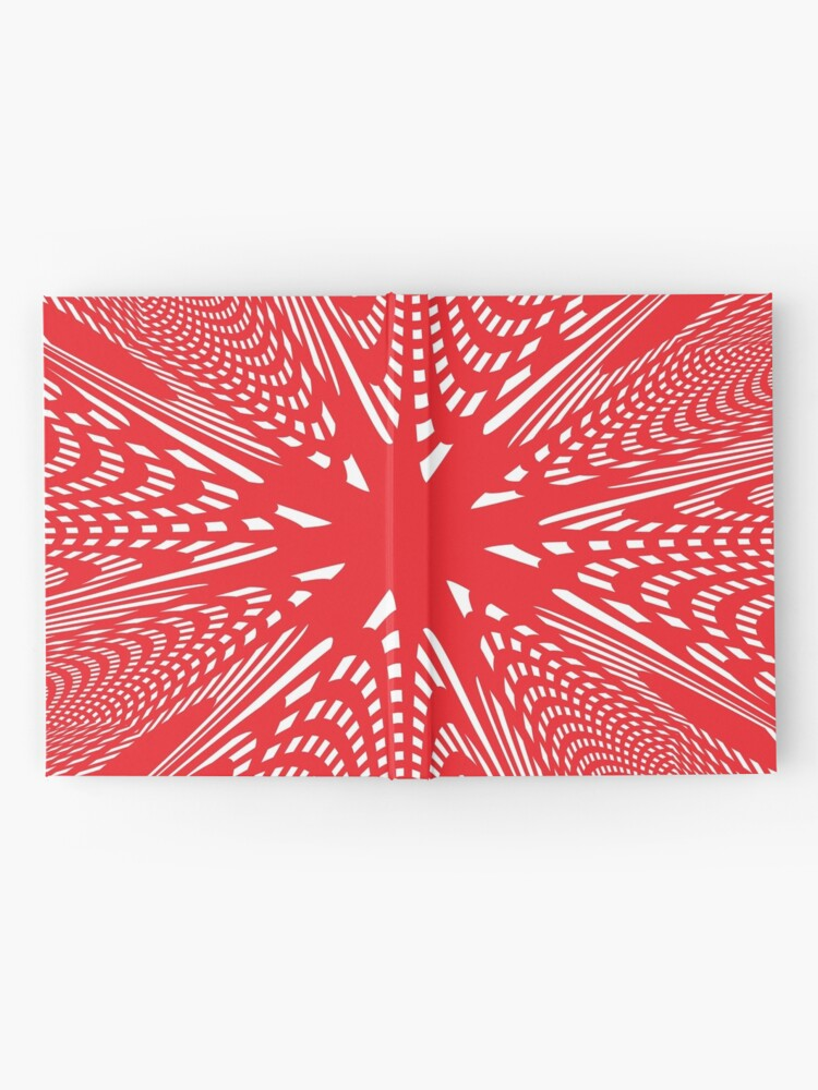 Alternate view of Art #Art #abstract #pattern #design #blue #fractal #wallpaper #digital #graphic #texture #green #art #backdrop #pink #light #red #flower #decorative #star #purple #white #color #psychedelic #geom Hardcover Journal