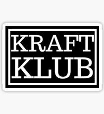 KRAFTKLUB #1 Sticker
