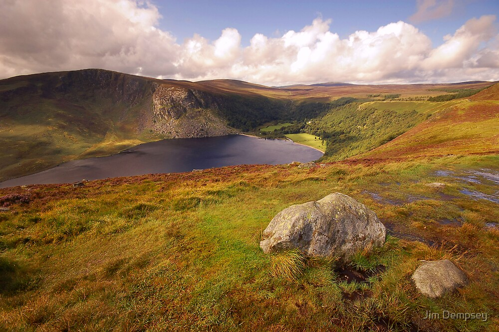 Lough Tay by Jim Dempsey