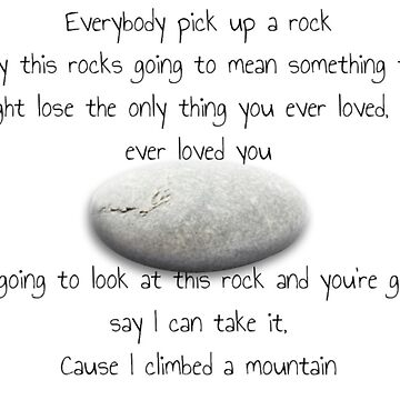 EveryBody Pick Up A Rock by ButterfliesT