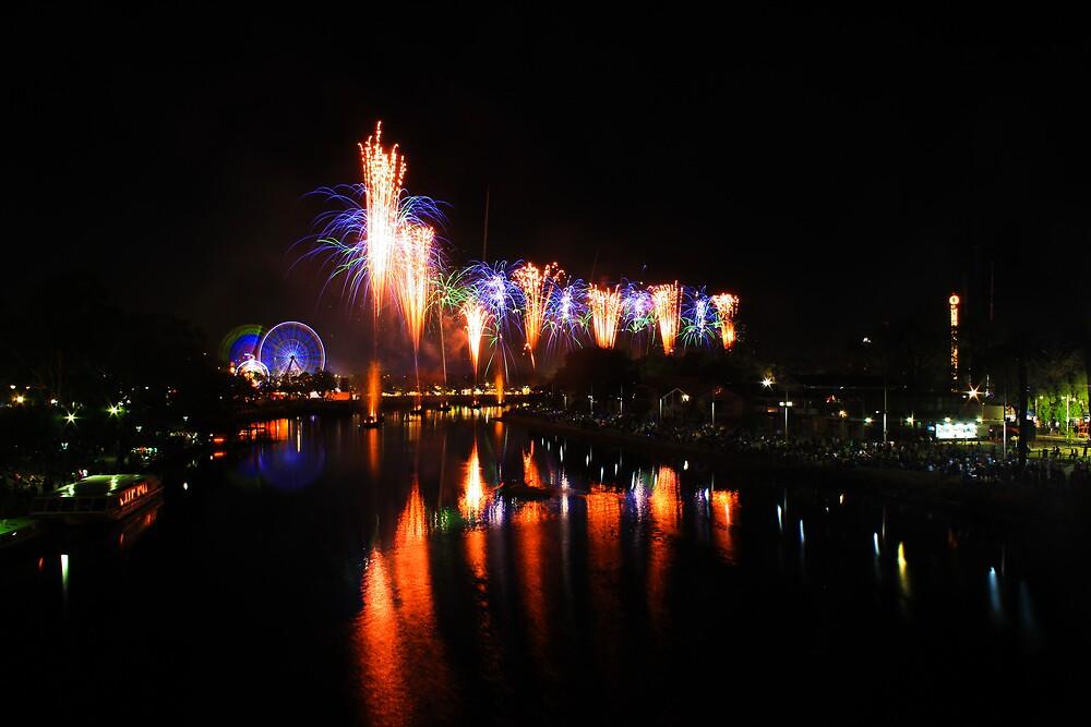Fireworks by Waqar