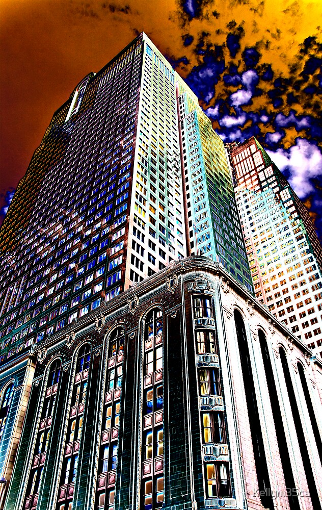 Curve Creations - Colorful Buildings by Kellym35ca