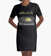 As Time Goes By Graphic T-Shirt Dress