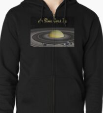 As Time Goes By Zipped Hoodie