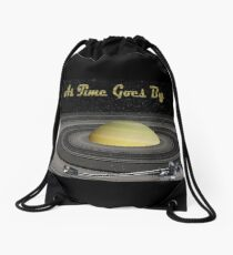 As Time Goes By Drawstring Bag