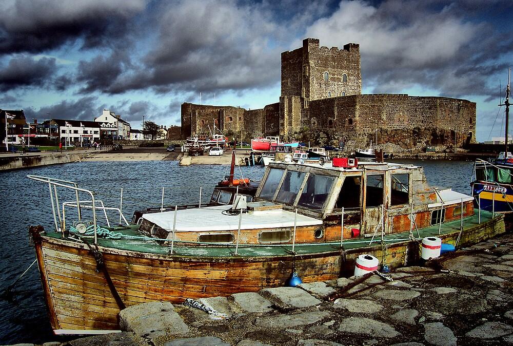 Carrickfergus Castle & Harbour ... by SNAPPYDAVE