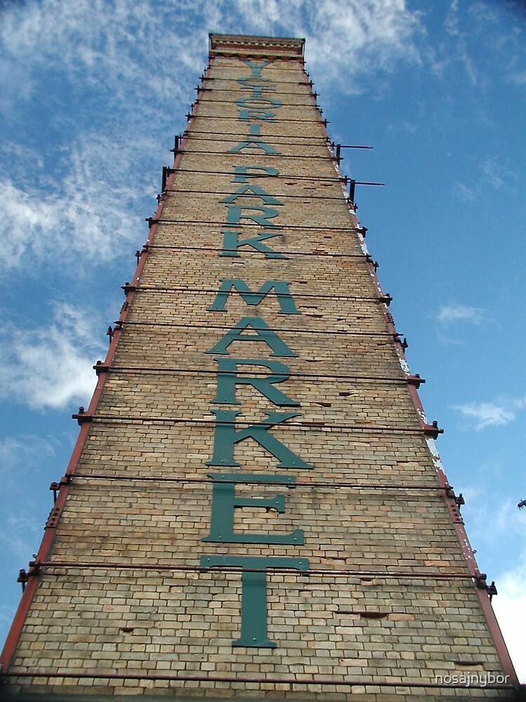 Victoria Park Market sign by nosajnybor