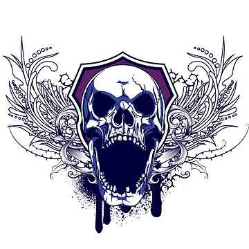 Skull New Design Apparel by mrkprints