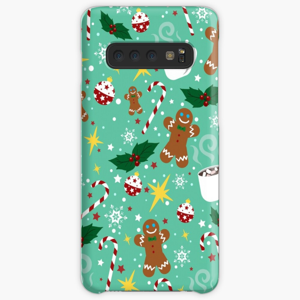 X-mas Time Pattern Case & Skin for Samsung Galaxy