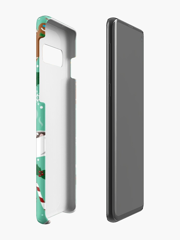 Alternate view of X-mas Time Pattern Case & Skin for Samsung Galaxy