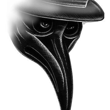 Plague Doctor by BlueVein
