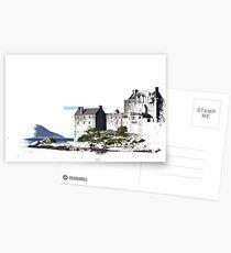 scottish castle Postcards