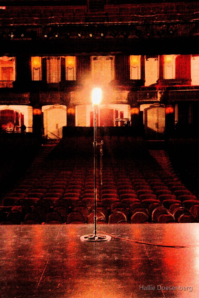 The Chicago Theater by Hallie Duesenberg