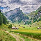 Hiking Trail At Seealpsee Appenzell Switzerland by Susan Dost