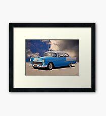 1955 Chevrolet 210 2-Door Sedan Framed Print