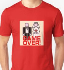 MARRIAGE GAME OVER Unisex T-Shirt