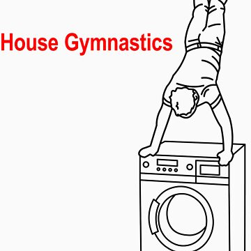 Washing Machine Handstand T-shirt by jamesrford