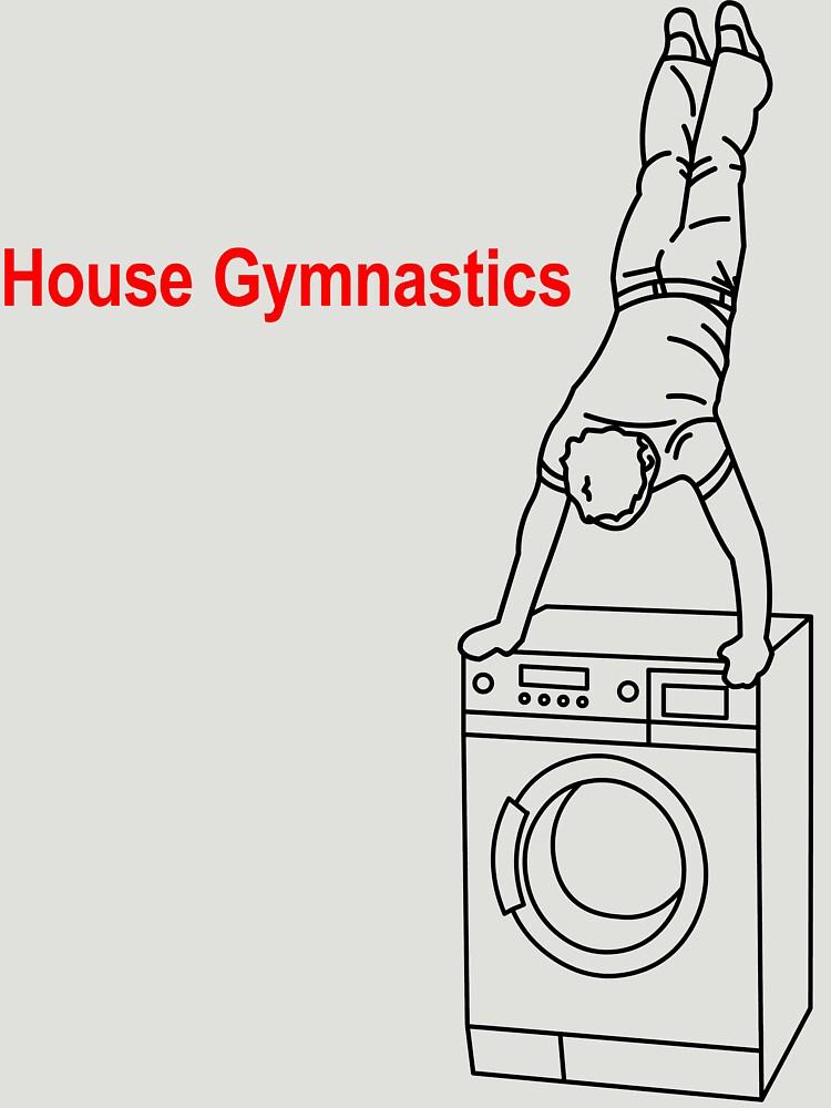 Washing Machine Handstand T-shirt by jamesrford