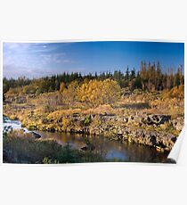 Autumn in Iceland Poster