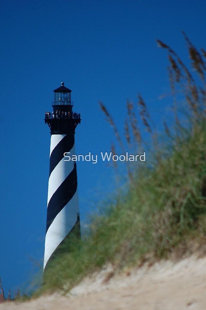 Hatteras Lighthouse by Sandy Woolard