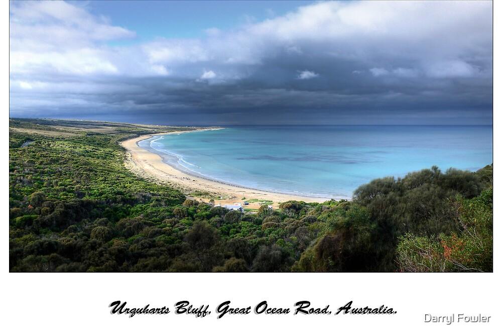 """Urquharts Bluff"",Great Ocean Road,Australia. by Darryl Fowler"