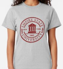 Empire State Universität Classic T-Shirt