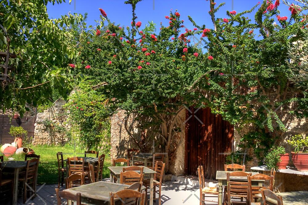 Garden Restaurant by Tom Gomez