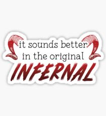 Infernal Glossy Sticker
