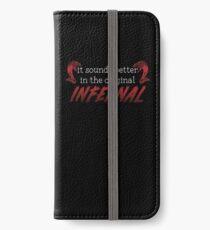 Infernal iPhone Wallet/Case/Skin