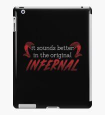 Infernal iPad Case/Skin