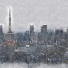 Tokyo at Dusk by mrthink