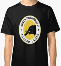 Tusker Lager Logo Classic T-Shirt