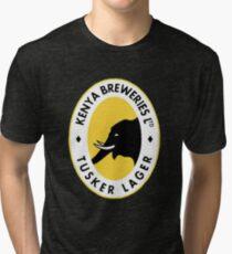 Tusker Lager Logo Tri-blend T-Shirt