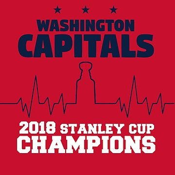 Washington Capitals - Heart Beat Stanley Cup by mymainmandeebo
