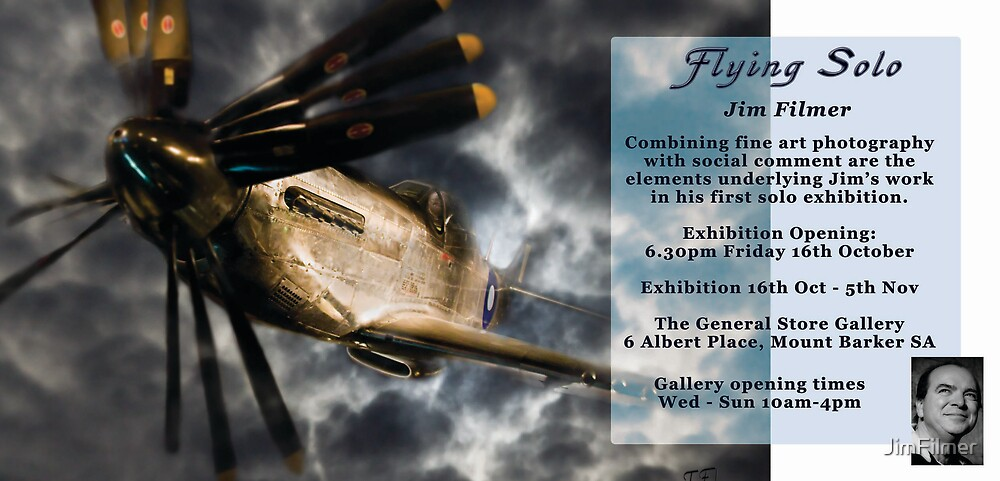 Flying Solo - New Exhibition October 2009 by JimFilmer