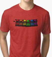 Dalek and Proud Tri-blend T-Shirt