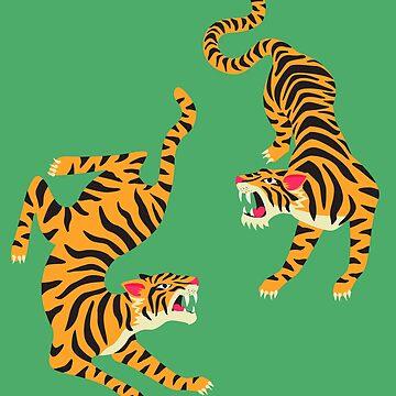 Double Tiger by machmigo