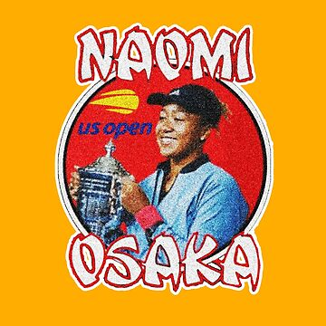 NAOMI OSAKA - GOLD BACKGROUND by queendeebs