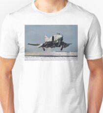 Phantom FGR.2 XV466/E taking-off at Stanley Unisex T-Shirt