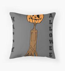Happy Halloween. Throw Pillow