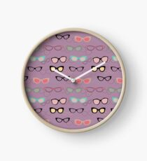 1950's Specs on Lilac Clock