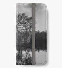 Alone at the lake iPhone Wallet/Case/Skin