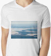 Riverbeds and Saltlakes  Men's V-Neck T-Shirt